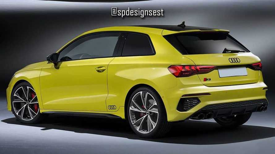 2021 Audi S3 Three-Door Hatchback Renderings