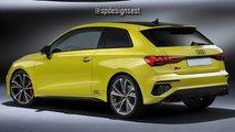 2021 Audi S3 Three-Door Hatchback Renderings