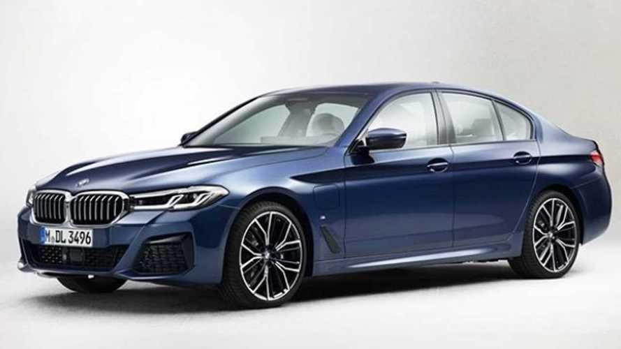 La BMW Série 5 restylée se montre complètement