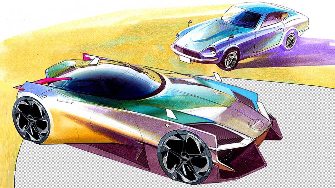 2022 Nissan 400Z - неофициальные рендеры