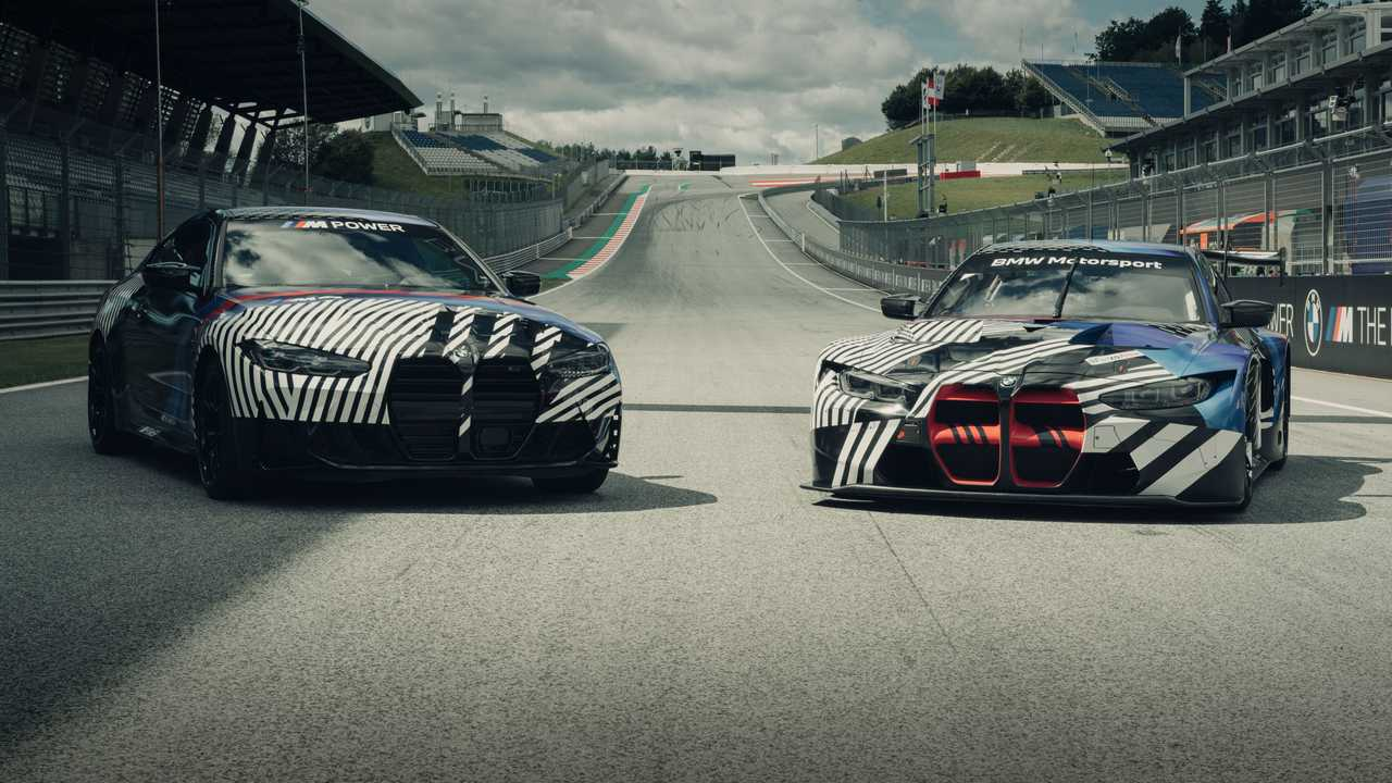 BMW M4 / M4 GT3 Teaser