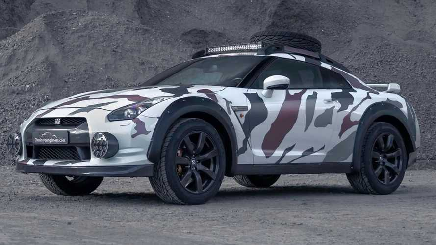 Nissan GT-R Is Battle Ready With Extreme Off-Road Makeover