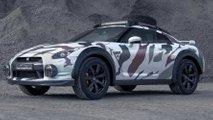 Wie cool ist dieser Nissan GT-R im Offroad-Safari-Trimm?