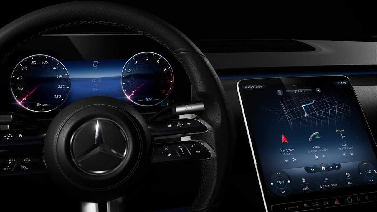 Mercedes-Benz Clase S 2021 imágenes interiores