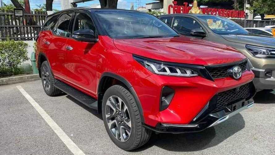 Novo Toyota SW4 2021: fotos ao vivo detalham versão esportiva Legender