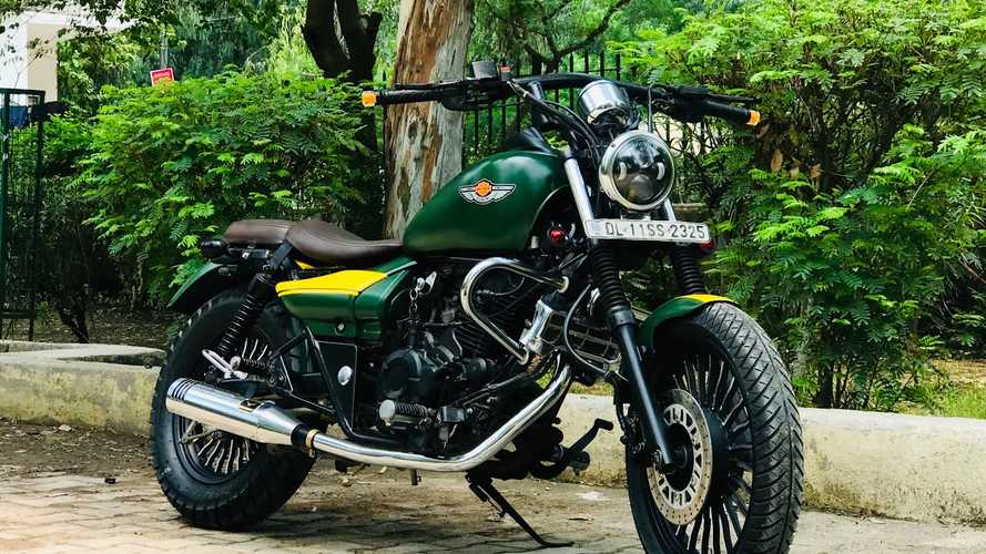 When You Can't Afford A Harley, Customize A Bajaj