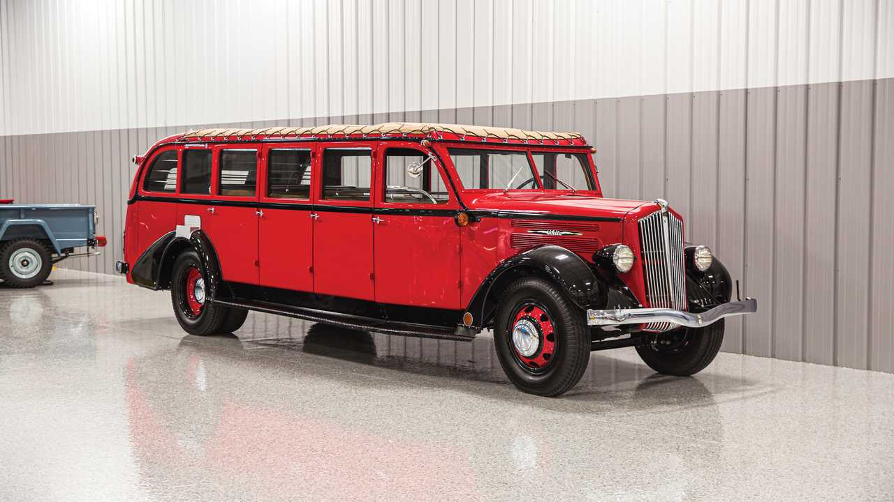 1936 White Model 706 Tour Bus