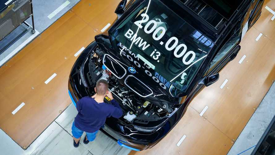 BMW i3 production in Leipzig