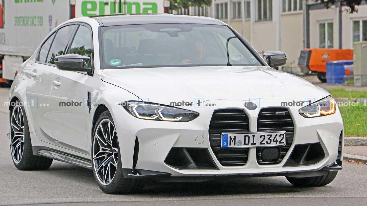 Photo espion BMW M3
