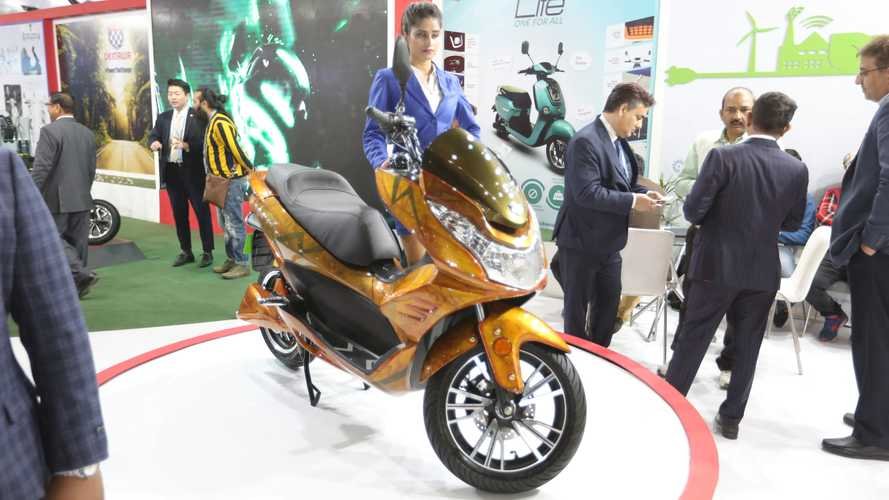 Okinawa Cruiser Electric Maxi-Scooter Coming Next Year
