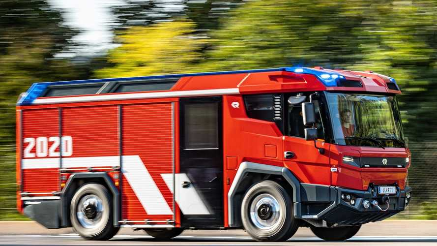 First Electric Fire Trucks Are On Their Way To Fire Departments