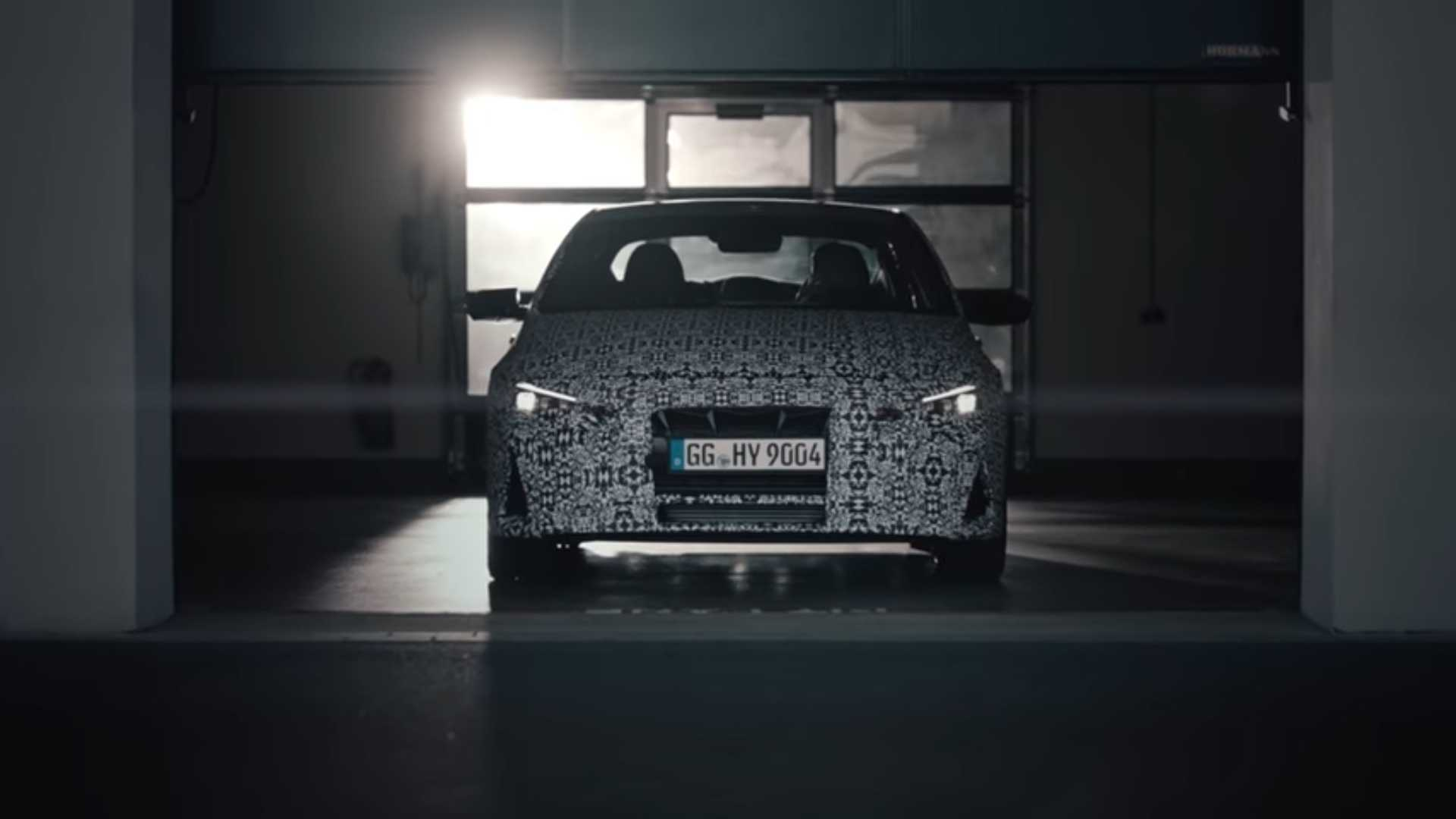 Hyundai Elantra N Officially Teased For The First Time