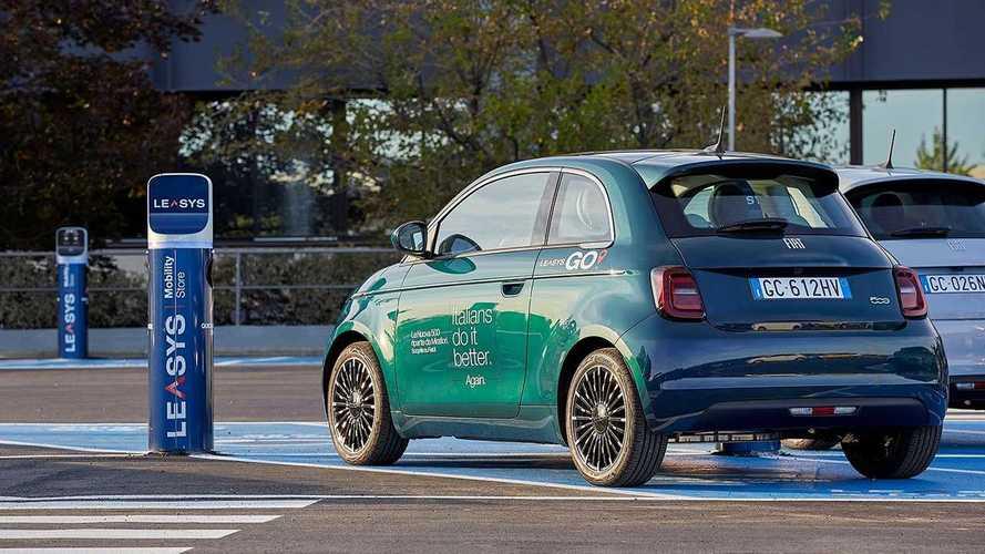 La Fiat 500 elettrica entra nel car sharing