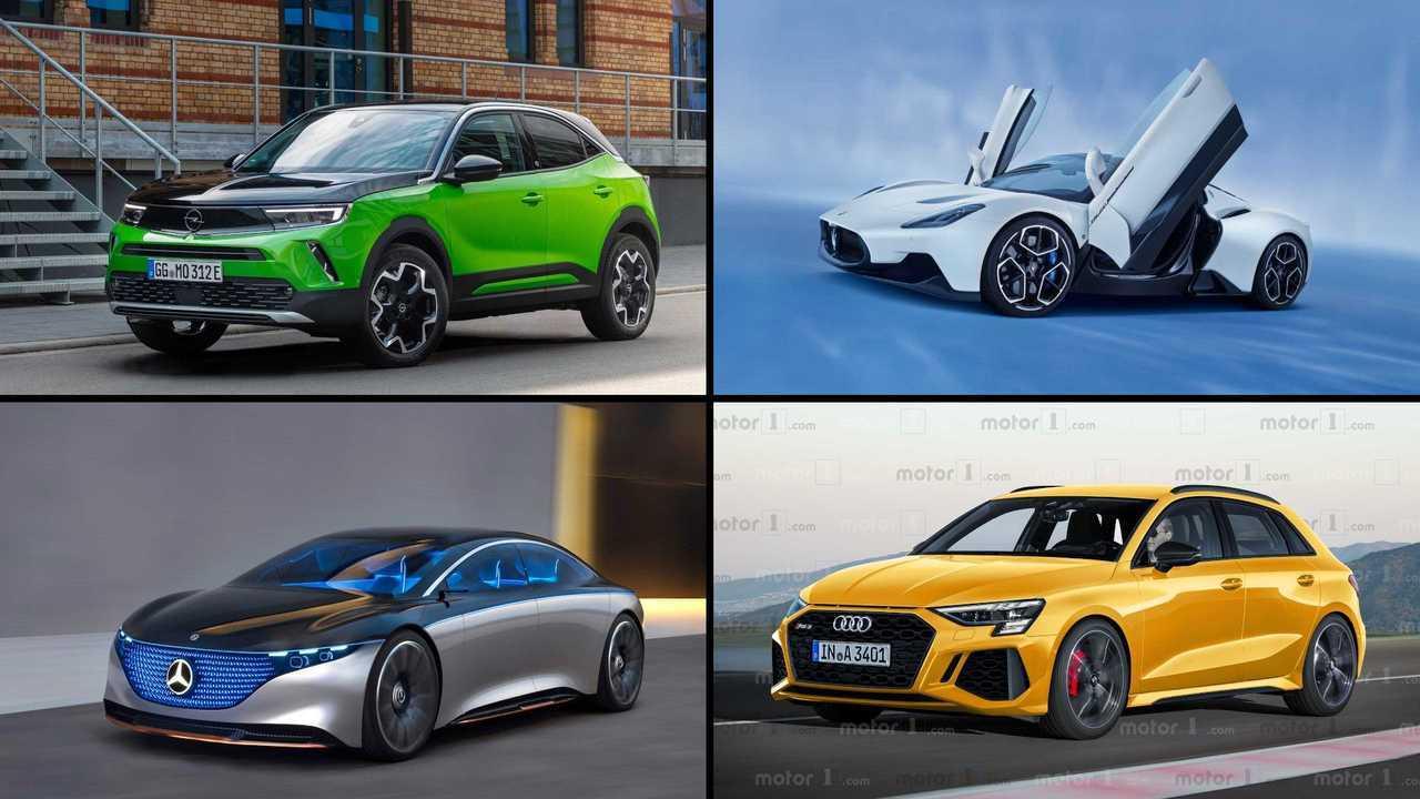 Auf diese 10 Autos freuen wir uns 2021 besonders (Collage)