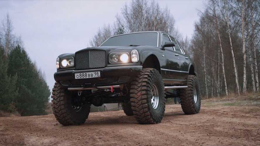 "Bentley Arnage ""Monster Truck"" Buatan Jagger Garage"