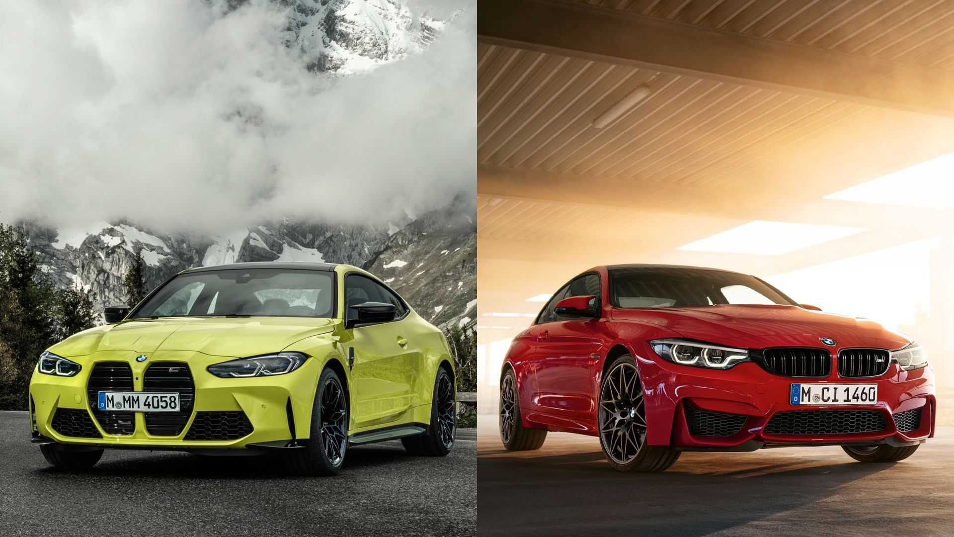 2021 Bmw M4 Vs 2020 Bmw M4 How Do They Compare Visually