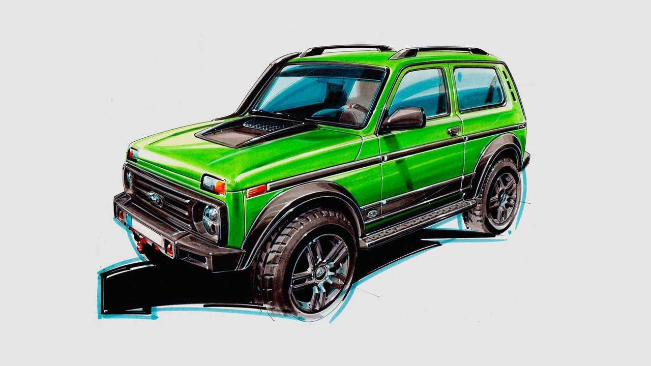 Lada Niva от Partisan Motors