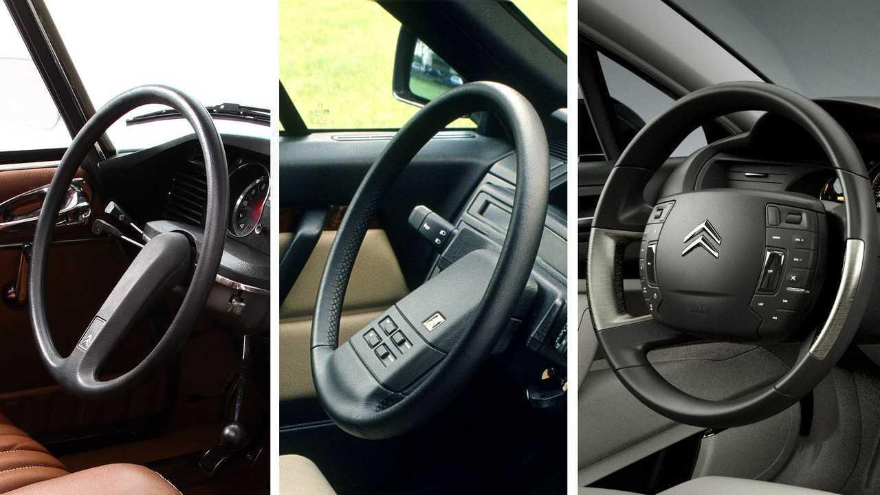 Citroen: односпицевый руль
