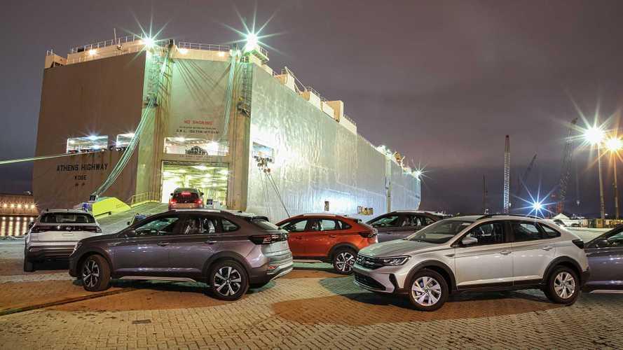 Volkswagen Nivus começa a ser exportado do Brasil para a Argentina