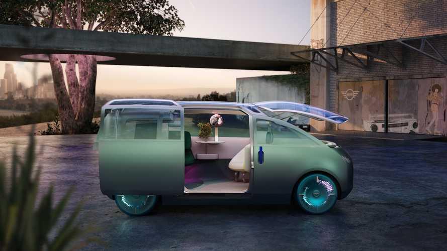 MINI представила видение электрокара будущего. Он может и не ездить