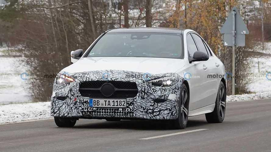 2022 Mercedes-Benz C-Class new spy photos