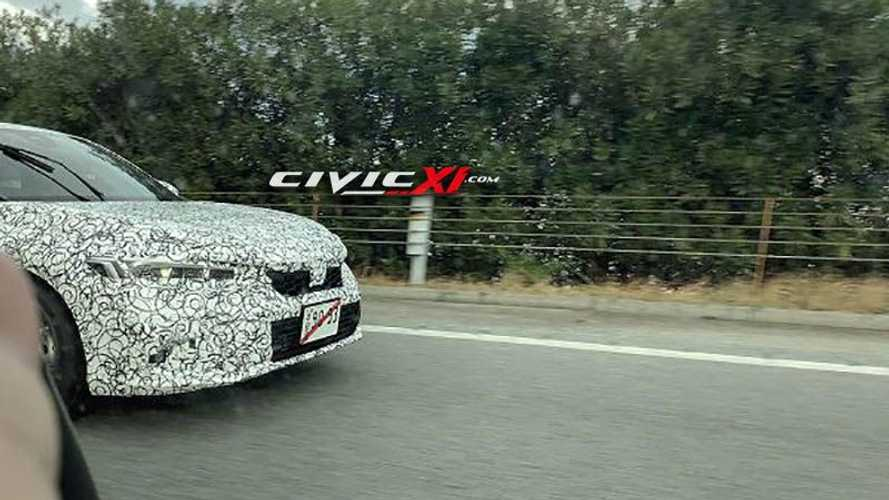 2022 Honda Civic Hatchback spy photos