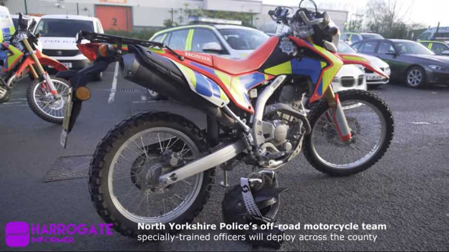North Yorkshire Police form off-road motorcycle team
