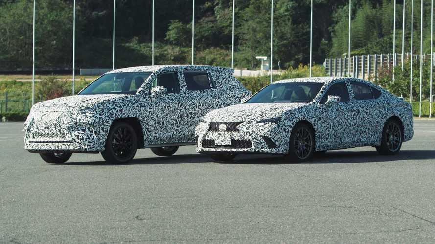 Lexus Direct4: Neuer elektrischer Allradantrieb und zwei neue Erlkönige
