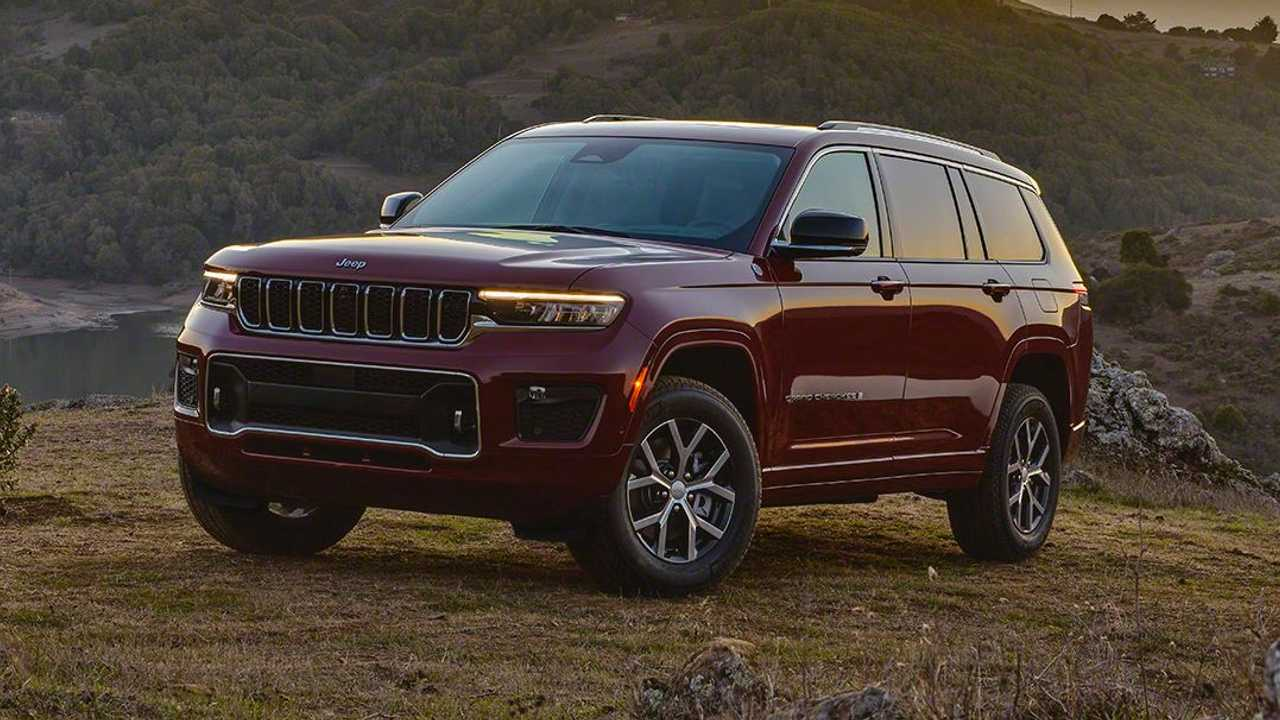 2021 Jeep Grand Cherokee L Exterior