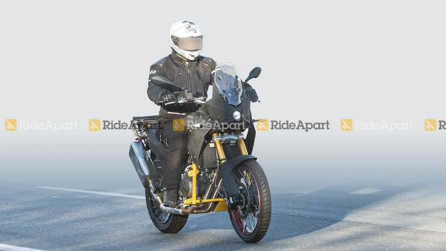 Spotted: The Aprilia Tuareg 660 Is Out And About