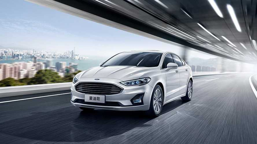 2020 Ford Mondeo facelift (China-spec)