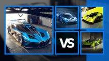 bugatti bolide vs hypercar pista confronto potenza