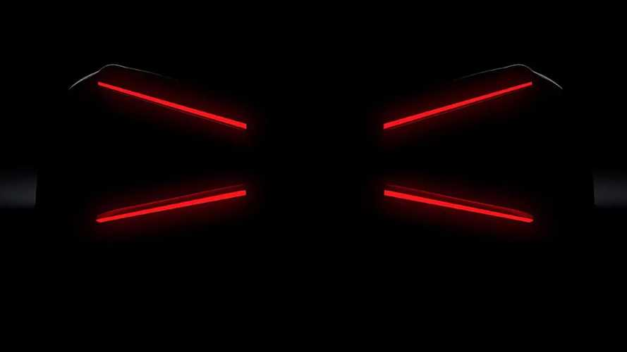 Bugatti teases mysterious new model with  x-shaped taillights