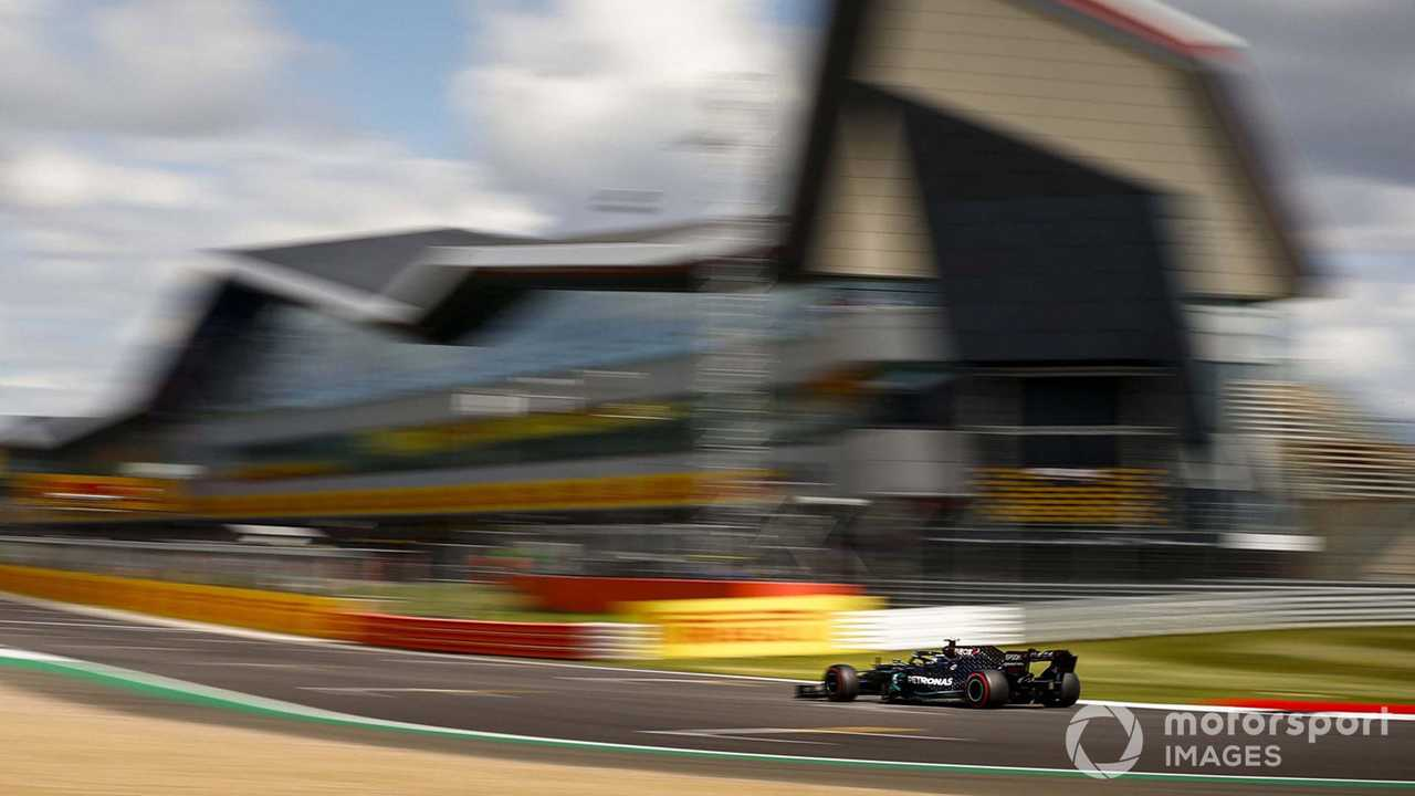 Lewis Hamilton at British GP 2020