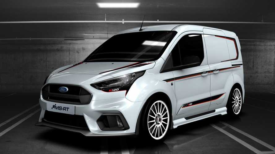 Ford MS-RT Transit Connect R120 Is All Show Without The Extra Go