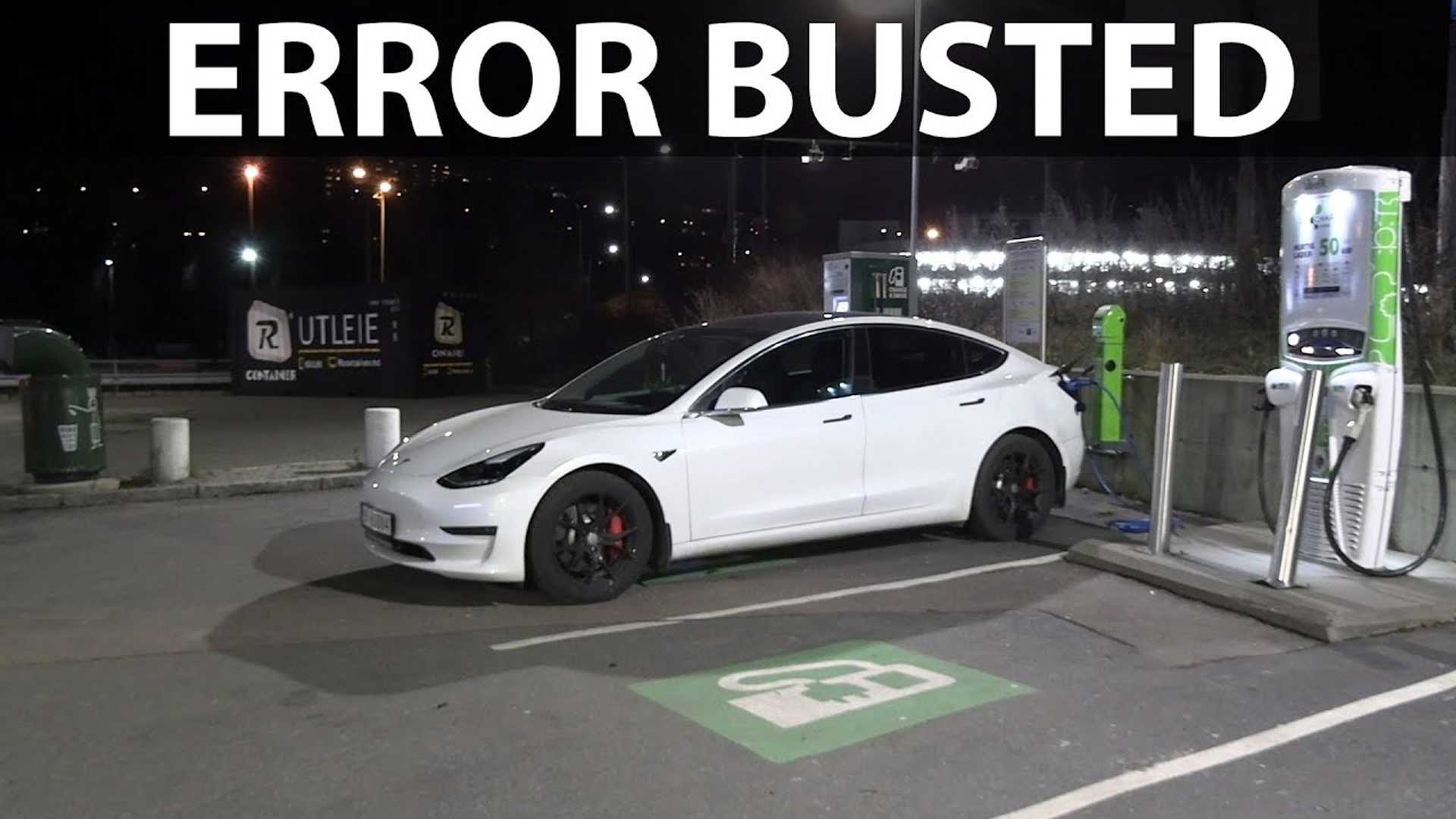 Bjorn Verifies, Debunks ADAC's Claimed Tesla Model 3 Charging Loss