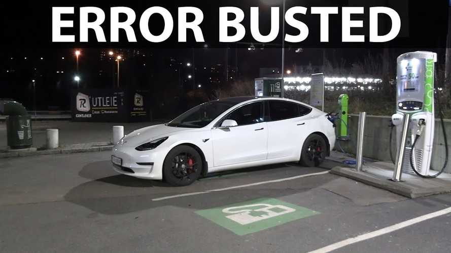 Bjorn Verifies, Debunks ADAC's Claimed Tesla Model 3 Charging Loss