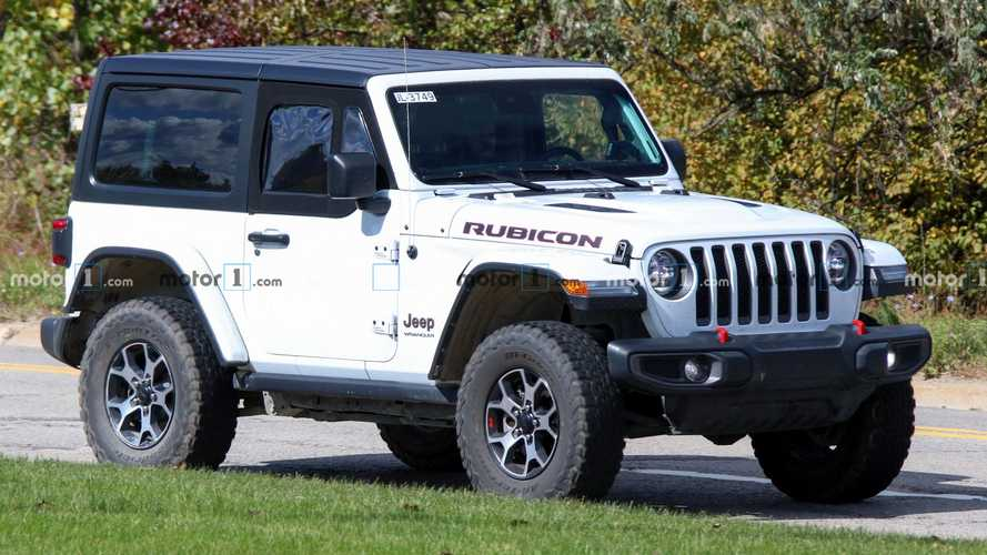 Jeep Wrangler JL Half-Doors Finally Spied For First Time