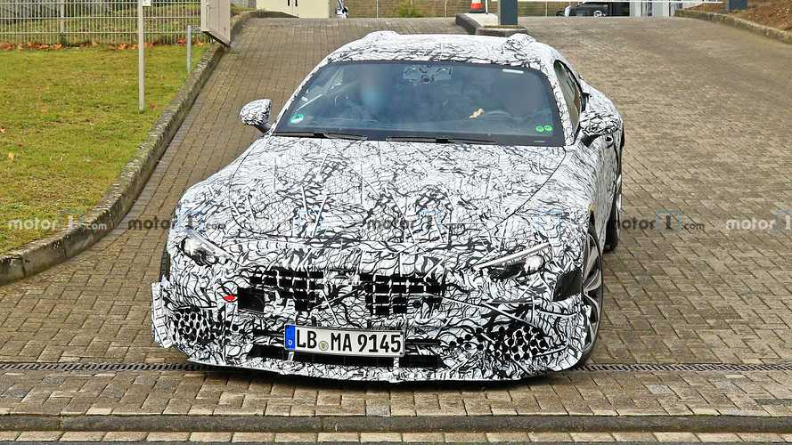 2022 Mercedes SL Spied Testing In Germany, Hear Its Engine