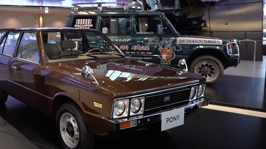 Hyundai'nin ilk otomobili ve ilk SUV'sini görün!