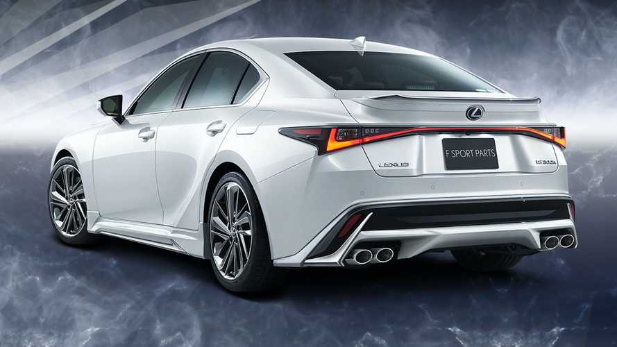 Lexus IS 2021, kits de TRD y Modellista