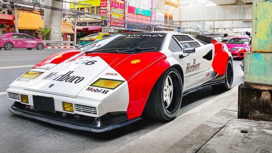 Tetszik ez a Lamborghini Countach? Igazából ez egy Hyundai
