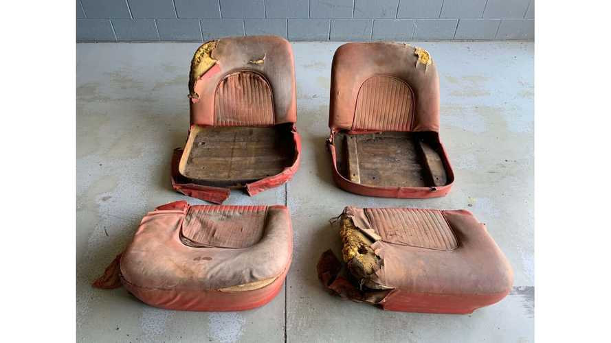 Someone's Asking $90,000 For These Real OG Corvette Seats