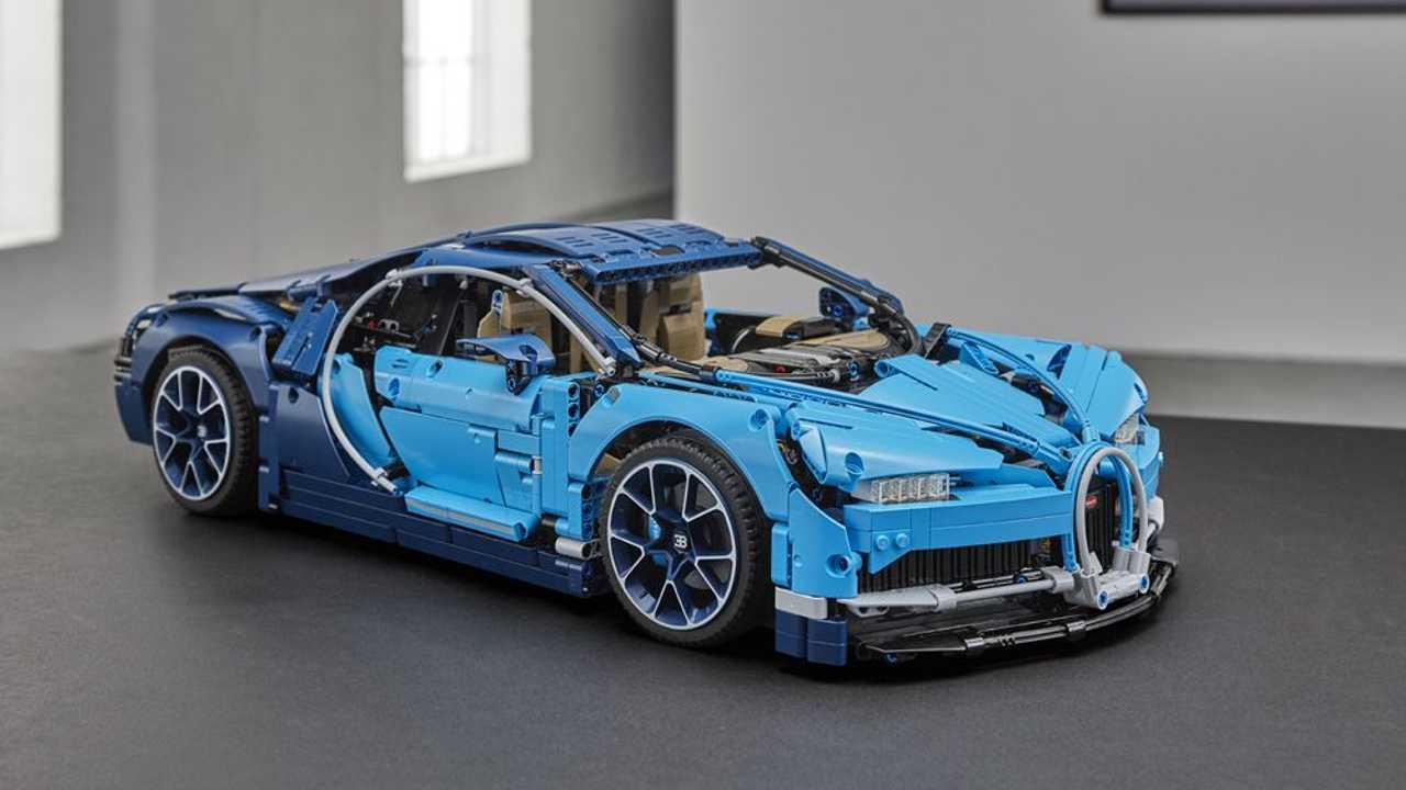 Bugatti Chiron - 3.599 piezas
