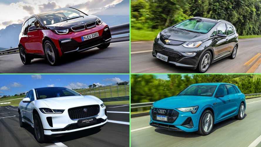Ranking: Audi e-tron supera Bolt como carro elétrico mais vendido do Brasil