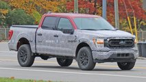 2021 Ford F-150 Tremor Spy Photos