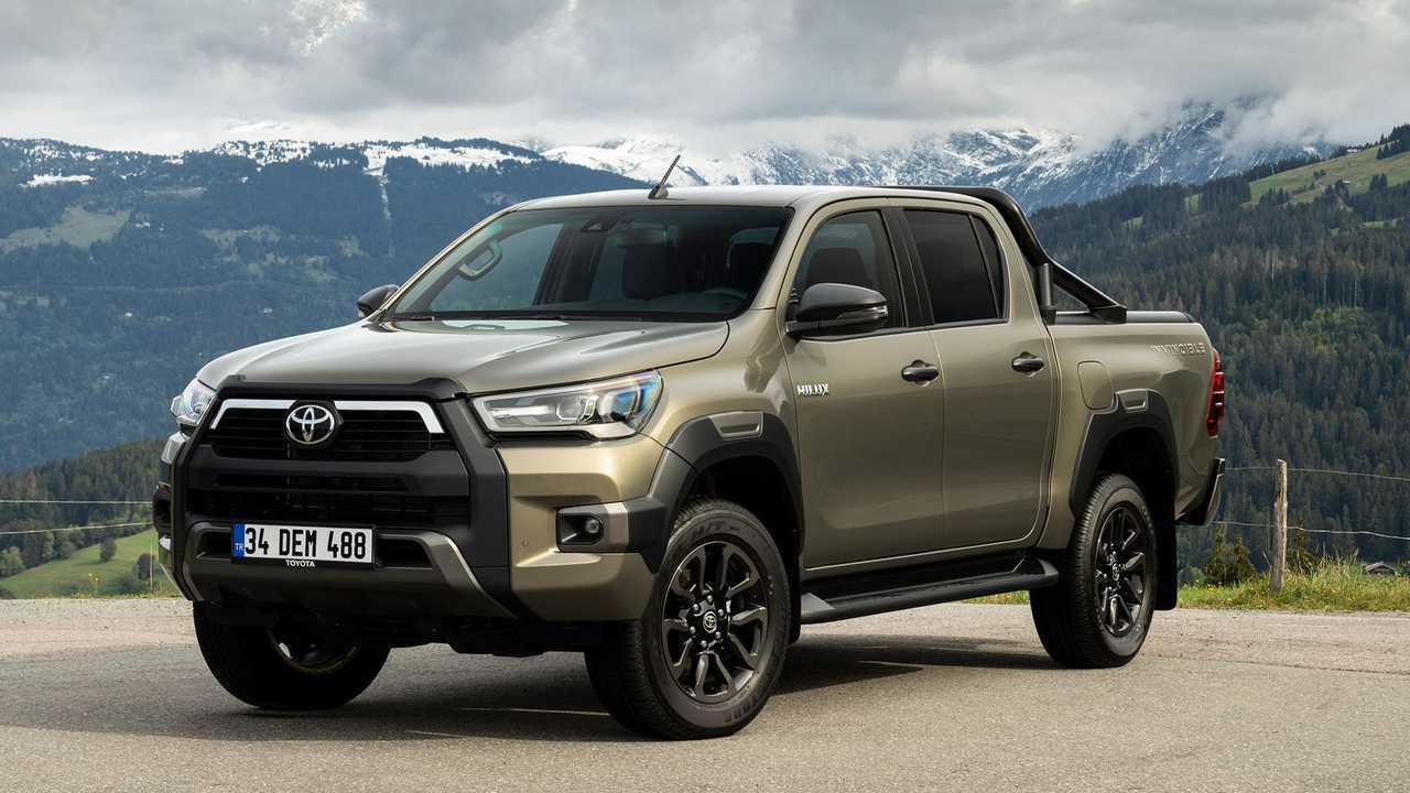toyota hilux (2021): neuer 2,8-liter-diesel und neues design