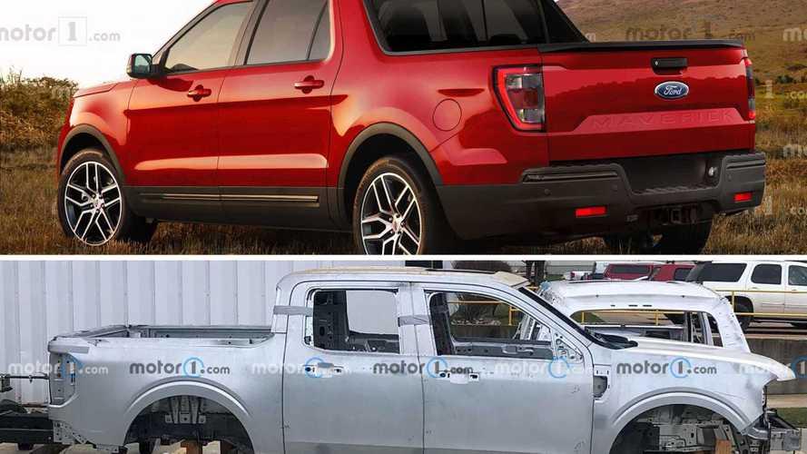 Picape Ford Maverick terá apenas configuração cabine dupla de 4 portas