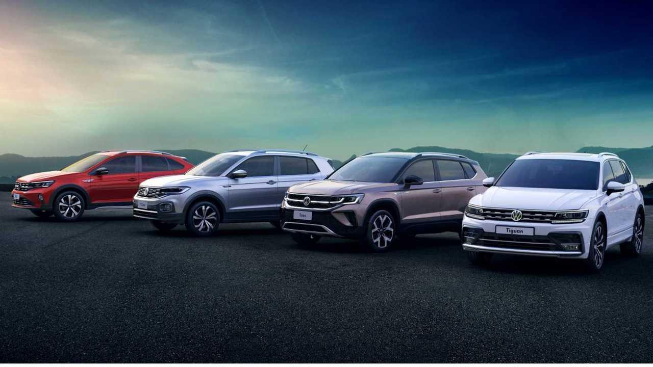 SUVS da VW Brasil