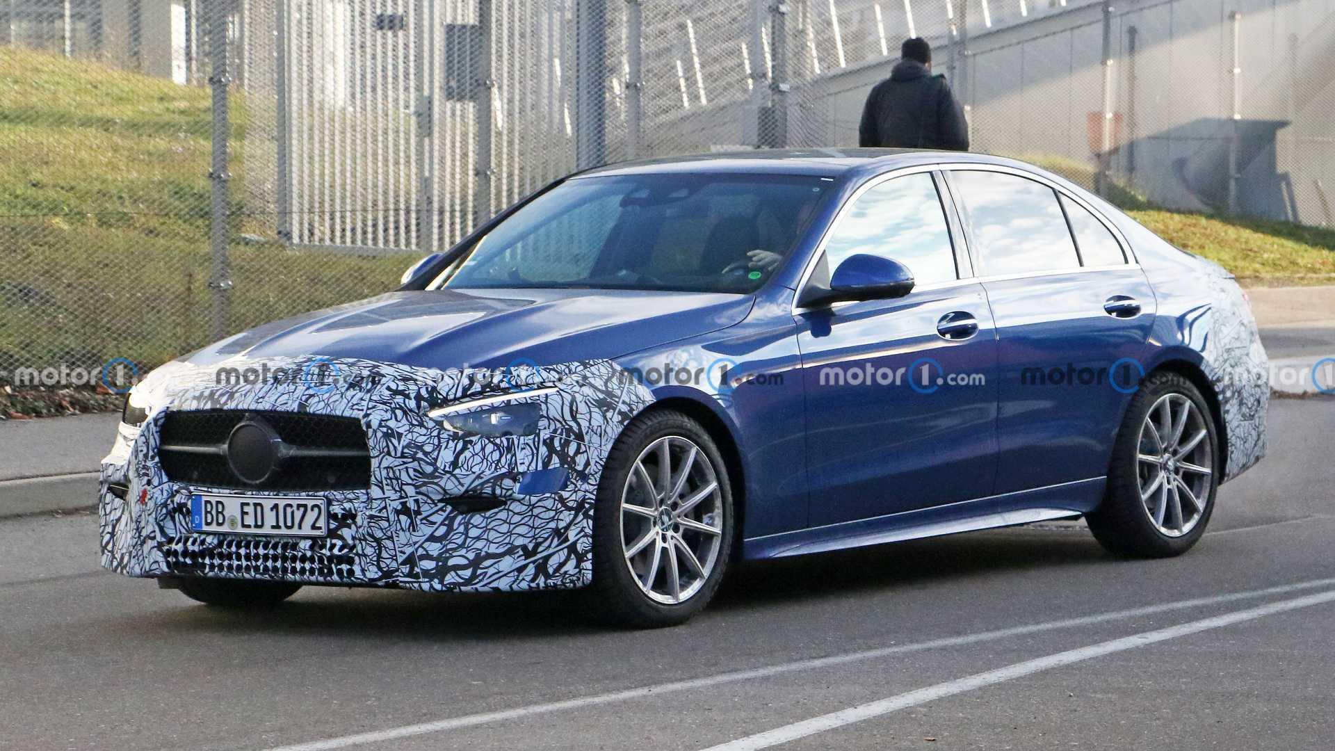 Mercedes-Benz C-Klasse (2021): Neue Details kurz vor Debüt enthüllt - Motor1 Deutschland